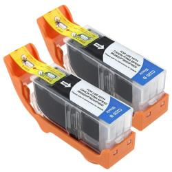 INSTEN Canon Compatible PGI-220BK Black Ink Cartridge (Pack of 2)
