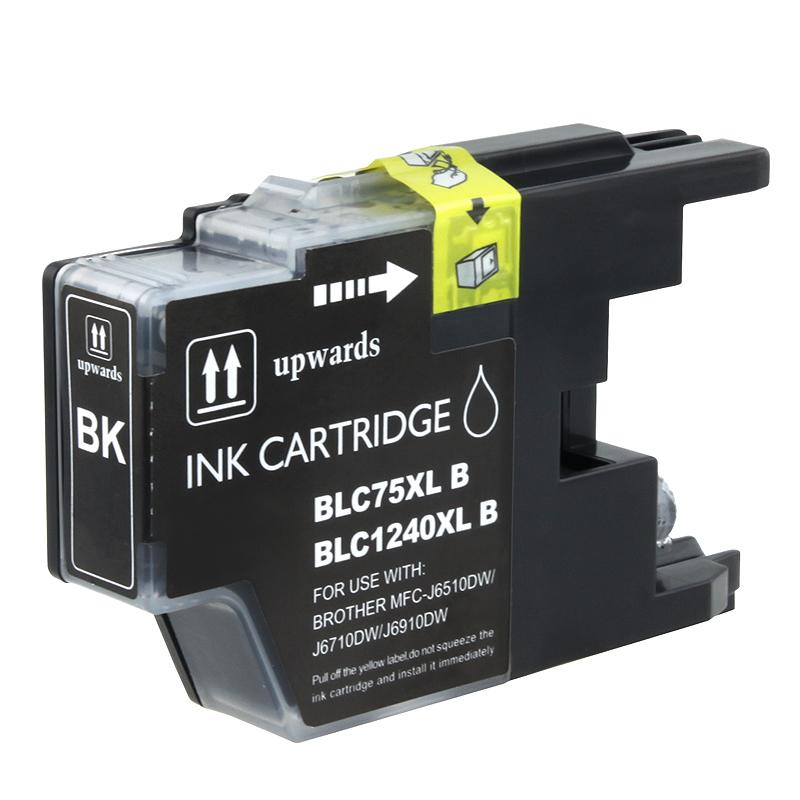 INSTEN Brother LC75BK Compatible High-yield Black Ink Cartridge