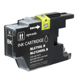 Brother LC75BK Compatible High-yield Black Ink Cartridge