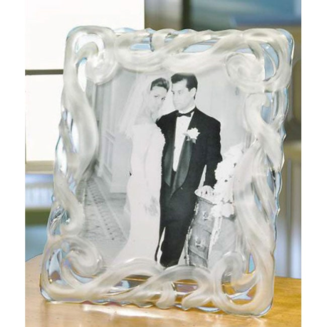 Crystal Clear Lucria 8x10-inch Picture Frame