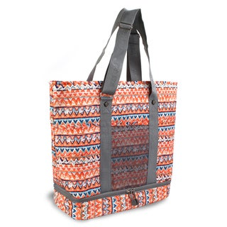J World &#39;Elaine&#39; Mayan Lunch Tote Bag