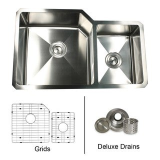 Highpoint Collection Stainless Steel Double Bowl Kitchen Sink