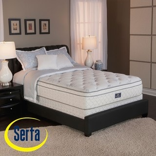 Serta Perfect Sleeper Conviction Euro-Top Twin-size Mattress and Box Spring Set