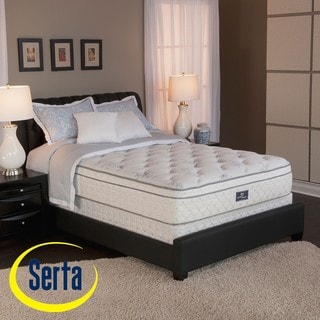 Serta Perfect Sleeper Conviction Euro Top Full-size Mattress and Box Spring Set