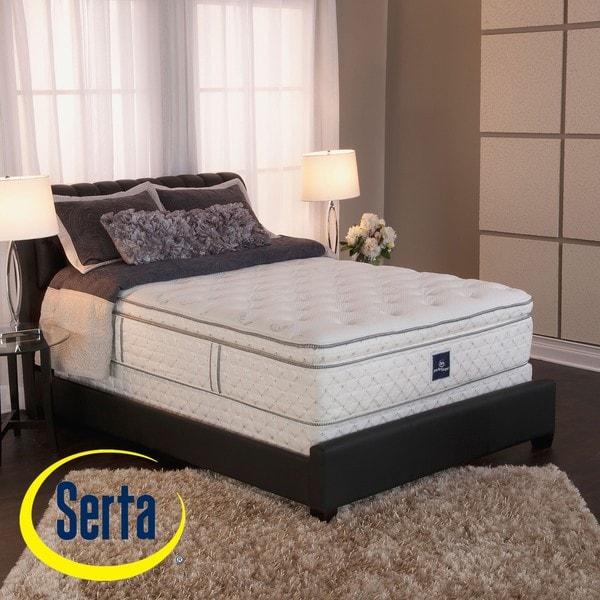 Serta Perfect Sleeper Ultra Modern Super Pillowtop Queen-size Mattress and Box Spring Set