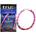 TRU Performance Titanium Pink Therapy Necklace