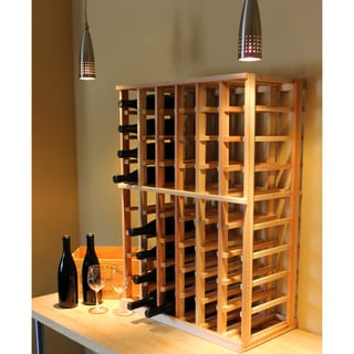 Redwood 54-bottle Wine Rack