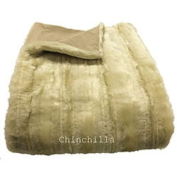 Chinchilla Oversized Throw