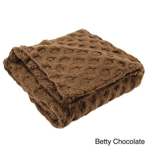 Betty Knitted Throw