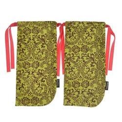 ShoeTotes Pineapple-print Laminate Fabric Shoe Bag