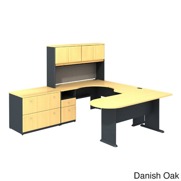 Series A Executive Suite 8 Beech Workstation