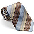 Platinum Ties Men's 'Express' Striped Tie