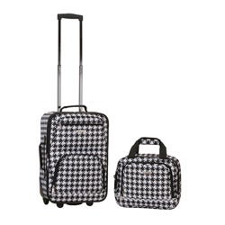 Rockland Expandable Kensington 2-piece Lightweight Carry-on Luggage Set