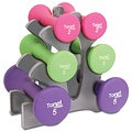 Tone Fitness 20 lb Dumbbell Weight Set