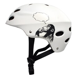 MBS 'Bright Idea' White Large/ XLarge Helmet