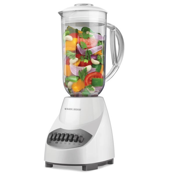 Black & Decker BL2010WP White 10-speed Blender