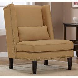Wing Chair Harvest Linen