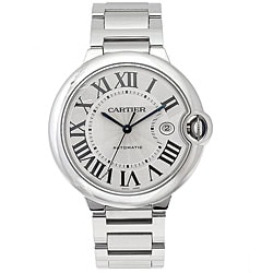 Cartier Men's Ballon Bleu Stainless Steel Luxury Watch