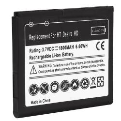Li-ion Rechargeable Standard Battery for HTC Desire HD