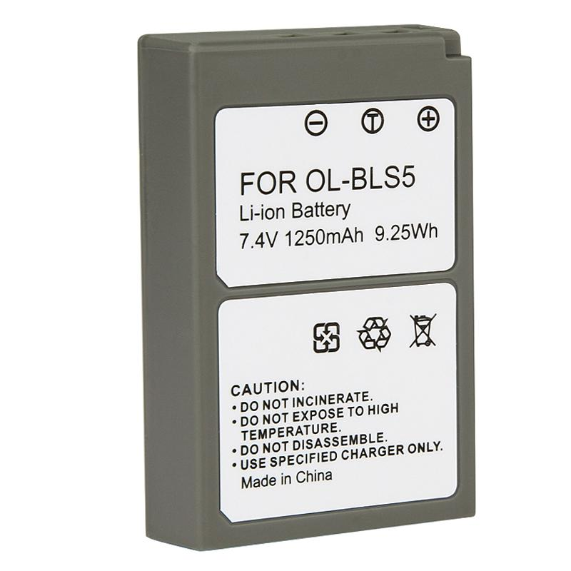 Li-ion Battery for Olympus PEN E-PL2