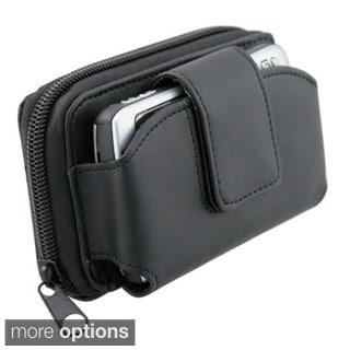 Large Black Universal Wallet Leather Case