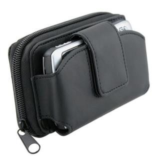 Large Black Universal Wallet Leather Case