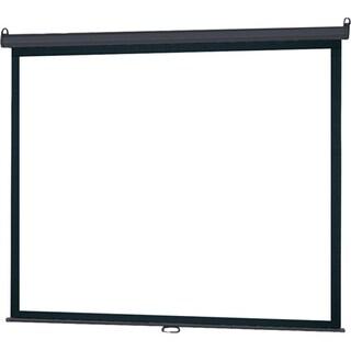 "InFocus SC-MAN-84 Manual Projection Screen - 84"" - 16:9 - Wall Mount,"
