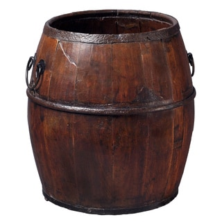 Shanghai Wooden Rice Bucket with Handle
