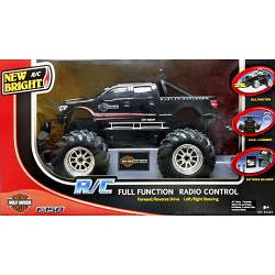 New Bright 1:14 Electronic Harley Davidson Ford F150 RC Truck