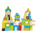 Wood 'City Shaped' 42-piece Exploration Blocks Set