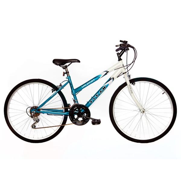 Titan Wildcat Women's White/ Teal Mountain Bike