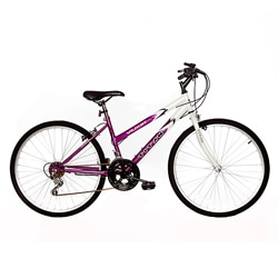 Titan Wildcat Women's White/ Lavender Mountain Bike