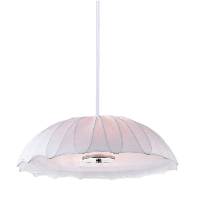 Serenity 3-light Pendant Chandelier with Umbrella Shape