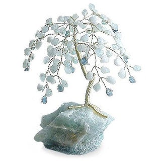 Aquamarine 'Aqua Goddess' Gemstone Sculpture (Brazil)