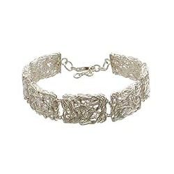 Sterling Silver 'Energized' Link Bracelet (Indonesia)