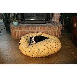 Round 42-inch Buttercup Dragonfly Pet Bed