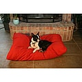Red Rectangle Pet Bed