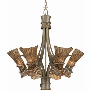 Bali 6-light Tropical Breeze Finish Chandelier