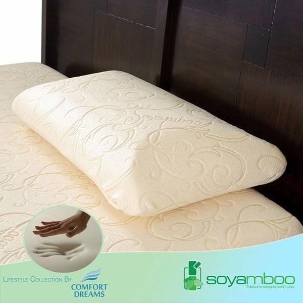 Comfort Dreams Soyamboo Queen-size Memory Foam Pillow