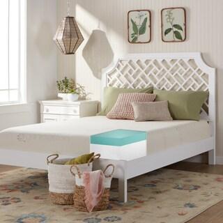 Comfort Dreams Organic Cotton 10-inch Queen-size Memory Foam Mattress