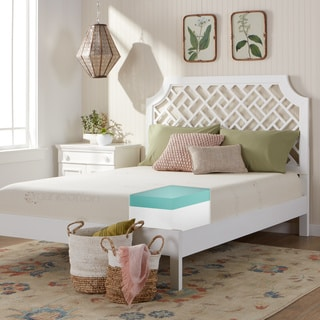 Comfort Dreams Organic Cotton 10-inch Twin-size Memory Foam Mattress
