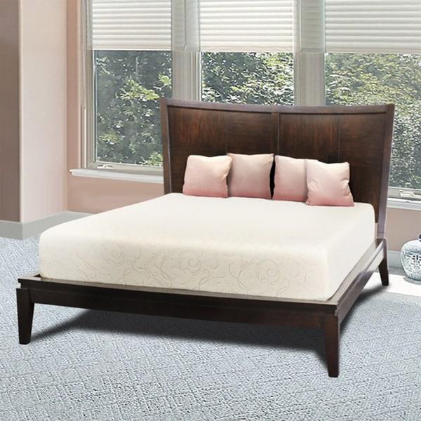 Comfort Dreams Soyamboo 10-inch Cal King-size Memory Foam Mattress