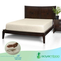 Comfort Dreams Soyamboo 10-inch Full-size Memory Foam Mattress