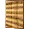 Asian Hand-woven Single Stripe Bamboo Rug (2' x 3')