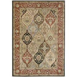 "Nourison Gramercy Multi Wool-Blend Oriental Rug (5'3"" x 7'5"")"