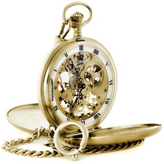 Steinhausen Tasche V Skeleton Pocket Watch