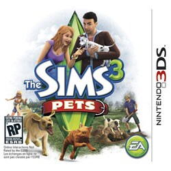 NinDS 3DS - The Sims 3 Pets - By Electronic Arts