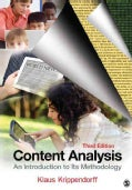 Content Analysis: An Introduction to Its Methodology (Paperback)