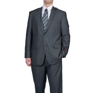 Adolfo Men's Grey 2-button Suit