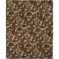 Hand-tufted Deval Brown Wool Rug (5' x 7'6)